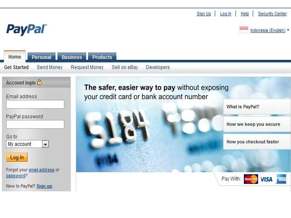 Paypal lebih aman dari alat pembayaran online lain PayPal lebih aman dari alat pembayaran online lain bagi pengirim dan penerima uang – ada bukti pembayaran – dapat melakukan komplain yang benar jika terjadi sesuatu atau terhindar dari komplain yang salah