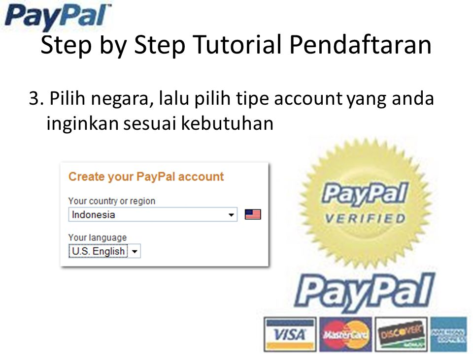 Step by Step Tutorial Pendaftaran 3.