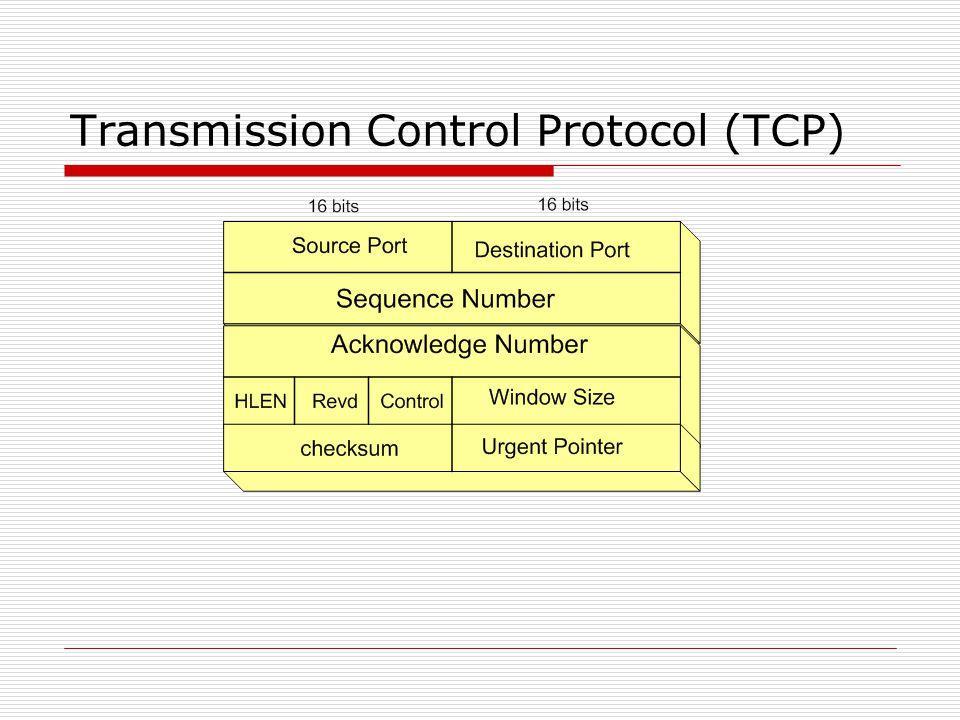 Transmission Control Protocol (TCP)