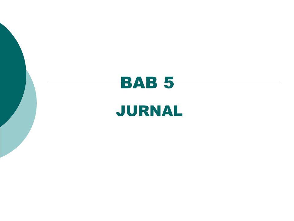 BAB 5 JURNAL
