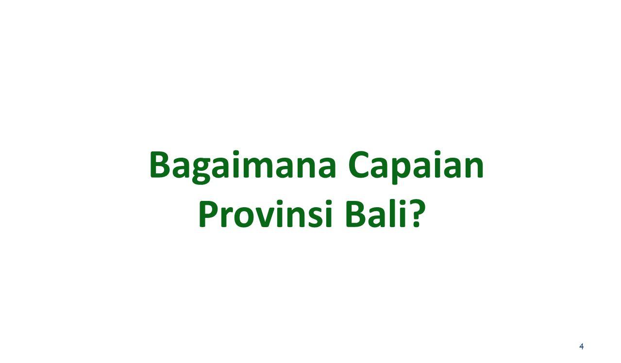 Bagaimana Capaian Provinsi Bali? 4