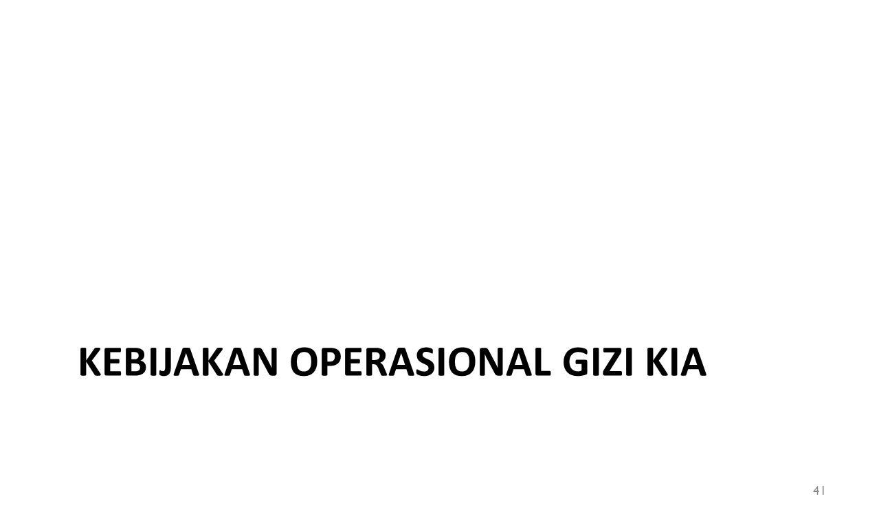 KEBIJAKAN OPERASIONAL GIZI KIA 41
