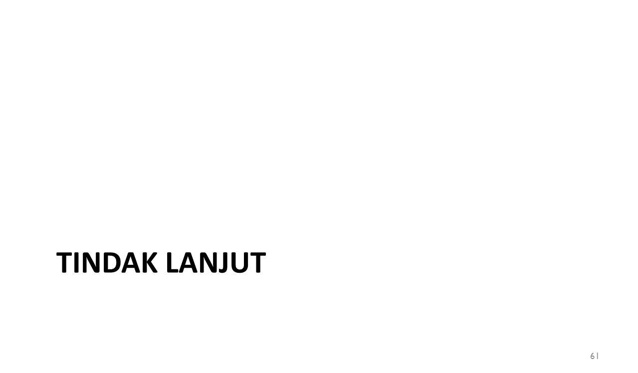 TINDAK LANJUT 61