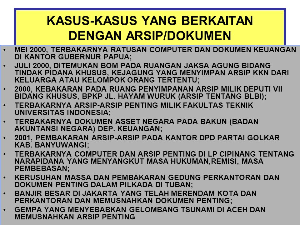 Jenis-jenis Arsip Citra Bergerak (video) Jenis-jenis Arsip Citra Bergerak (video)