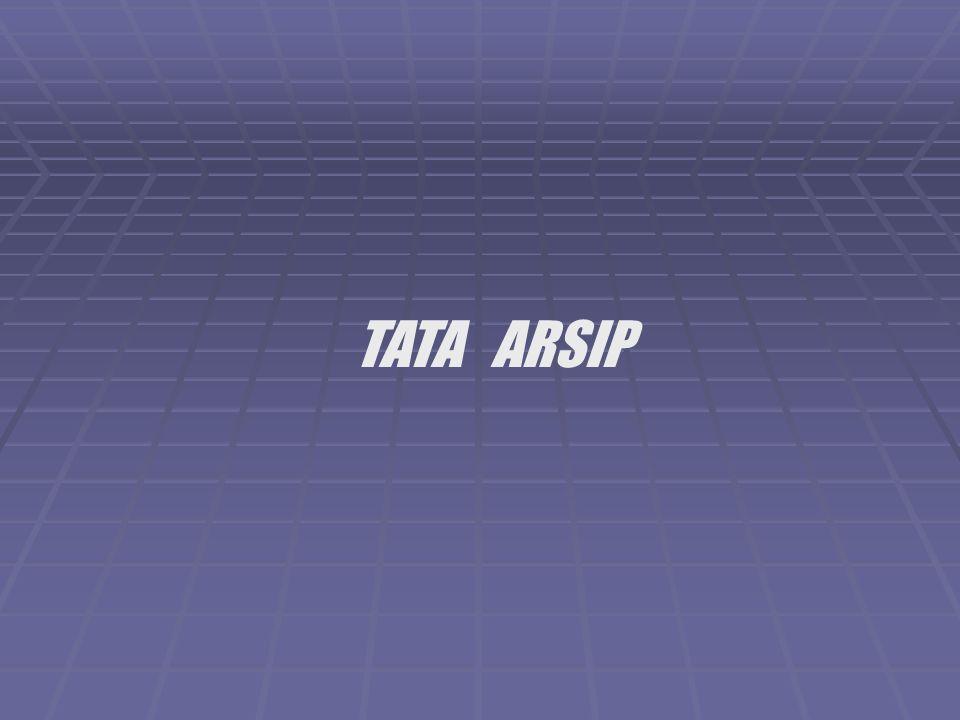 TATA ARSIP