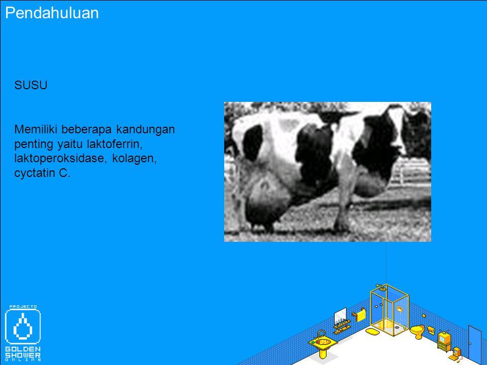 Bahan dan Metode Protein Dasar Susu Protein dasar susu (MBP) diperoleh dari susu pasterisasi dengan kandungan MBP 90% berat.