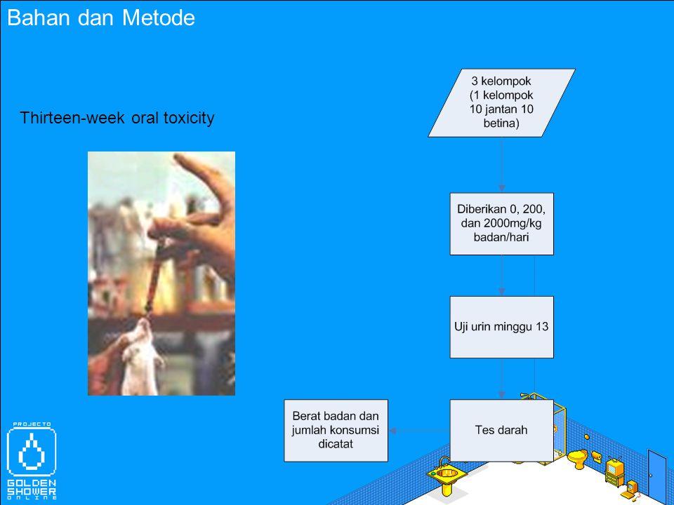 Bahan dan Metode Mutagenesi