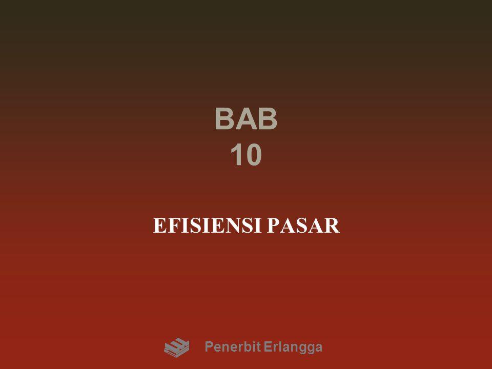 BAB 10 EFISIENSI PASAR Penerbit Erlangga
