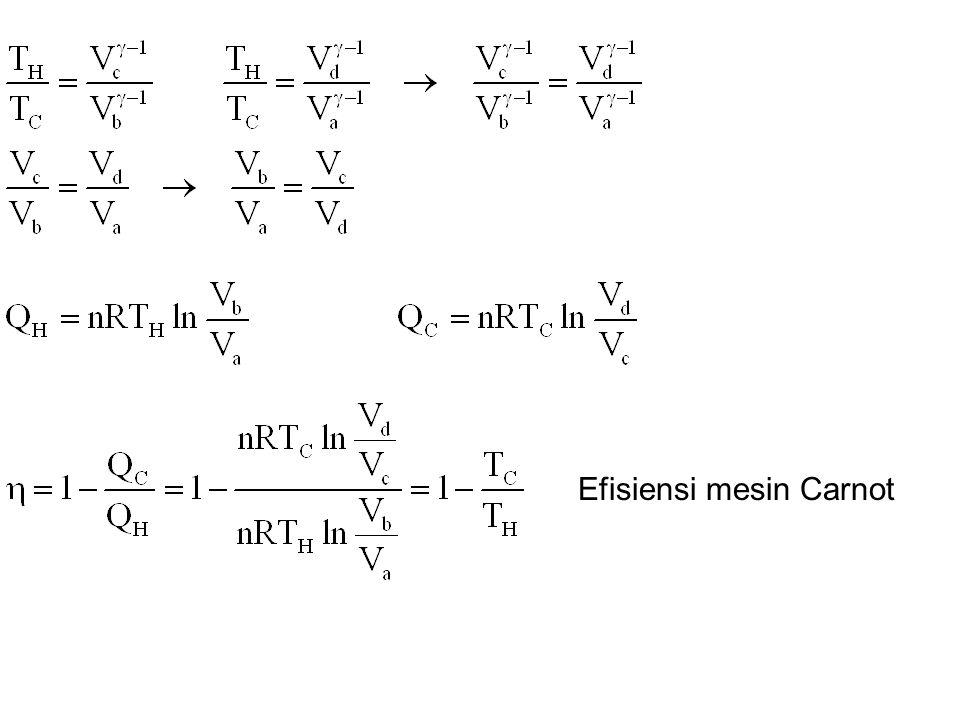 Efisiensi mesin Carnot