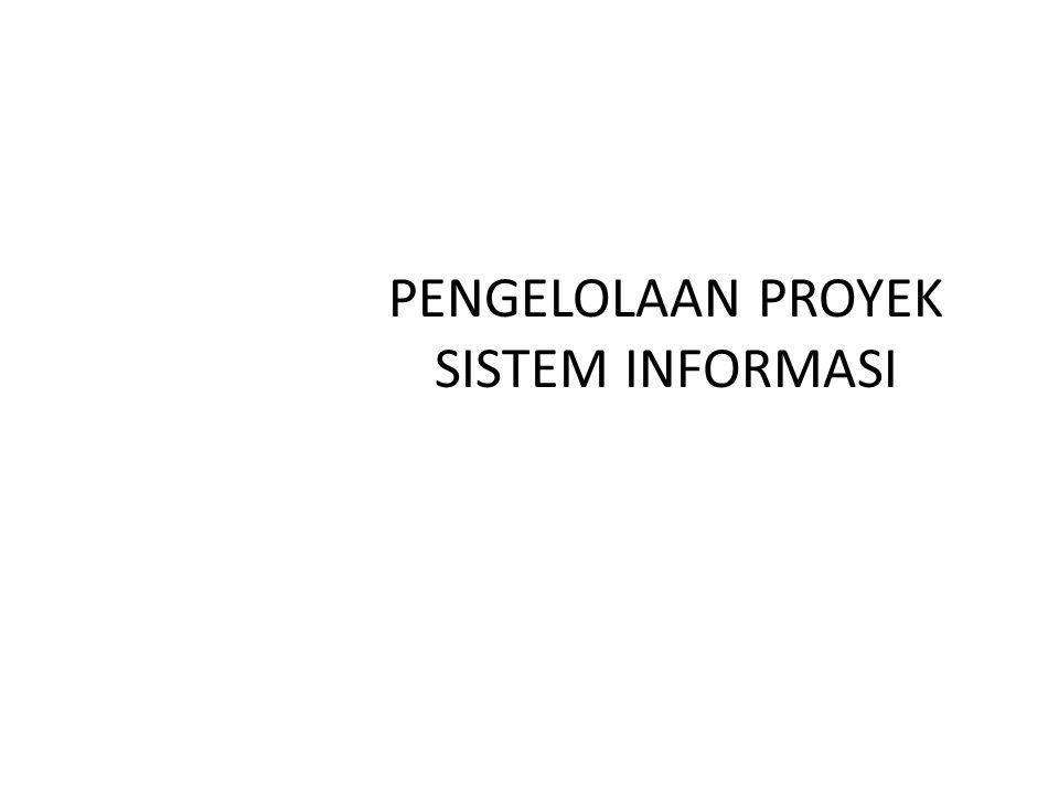 PROYEK TEKNOLOGI INFORMASI FAKTA MASALAH PADA PROYEK T.I.