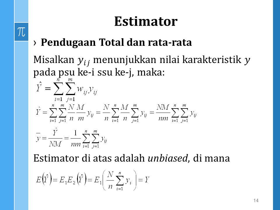 Estimator 14