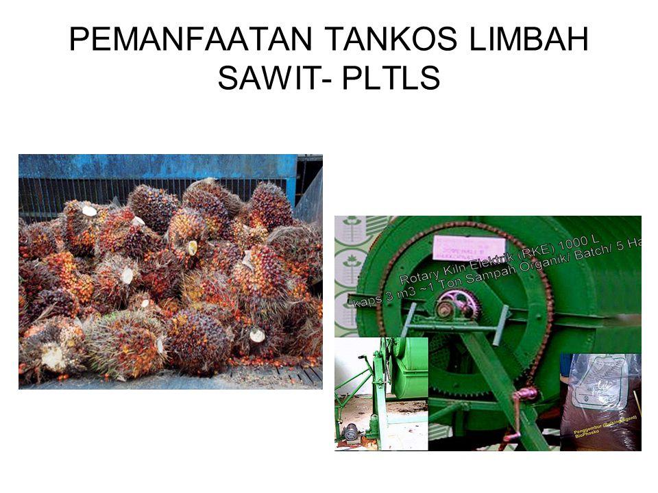 PEMANFAATAN TANKOS LIMBAH SAWIT- PLTLS