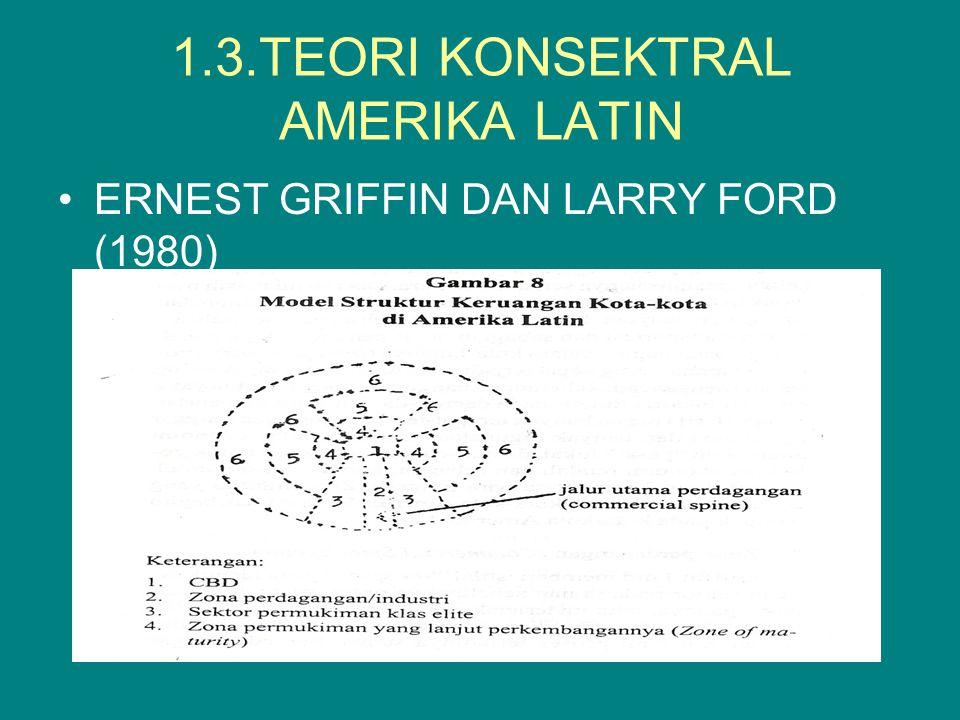 1.3.TEORI KONSEKTRAL AMERIKA LATIN ERNEST GRIFFIN DAN LARRY FORD (1980)