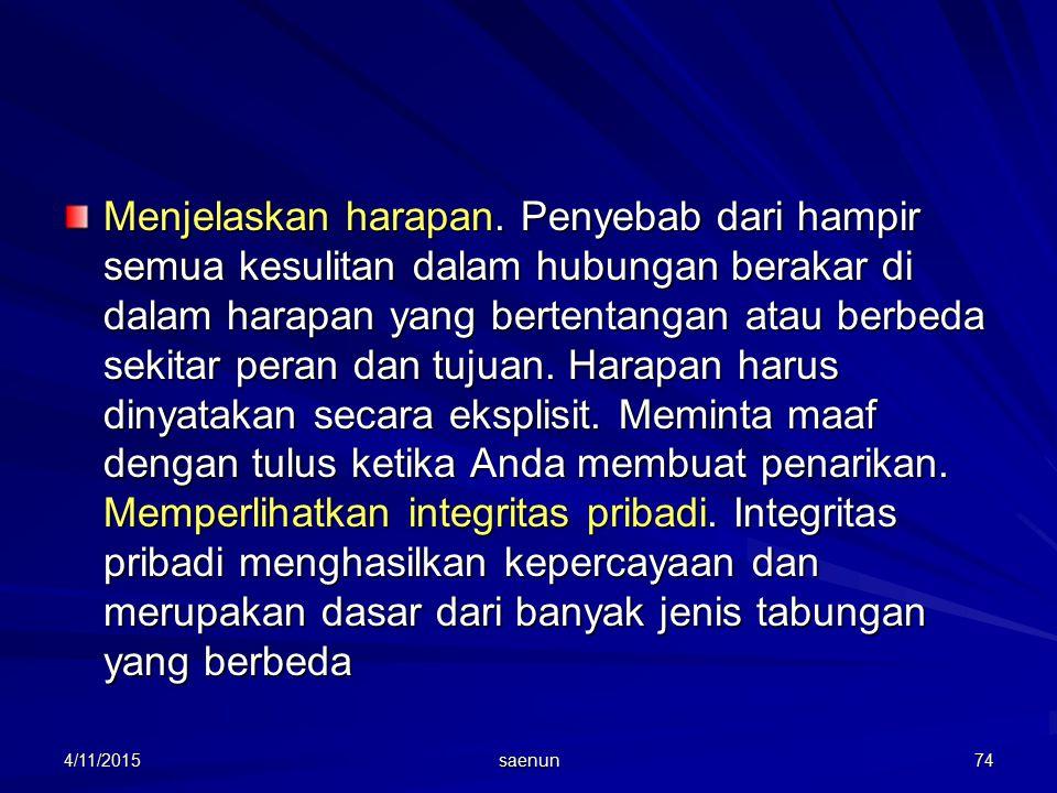 4/11/2015 saenun 74 Menjelaskan harapan.