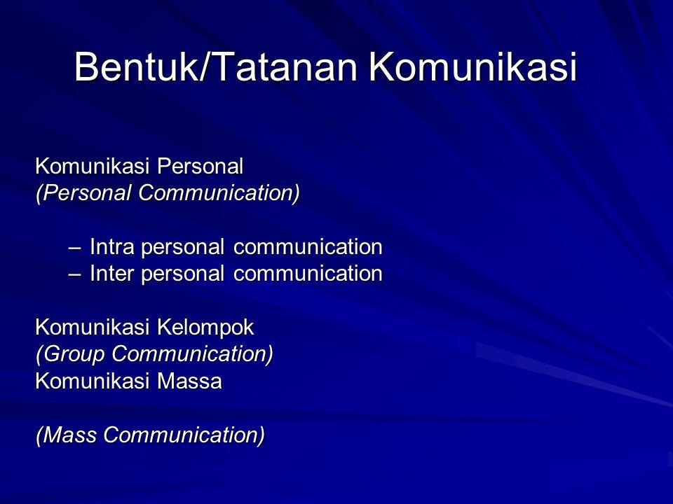 Percaya diri.Ketakutan untuk melakukan komunikasi dikenal sebagai communication apprehension.