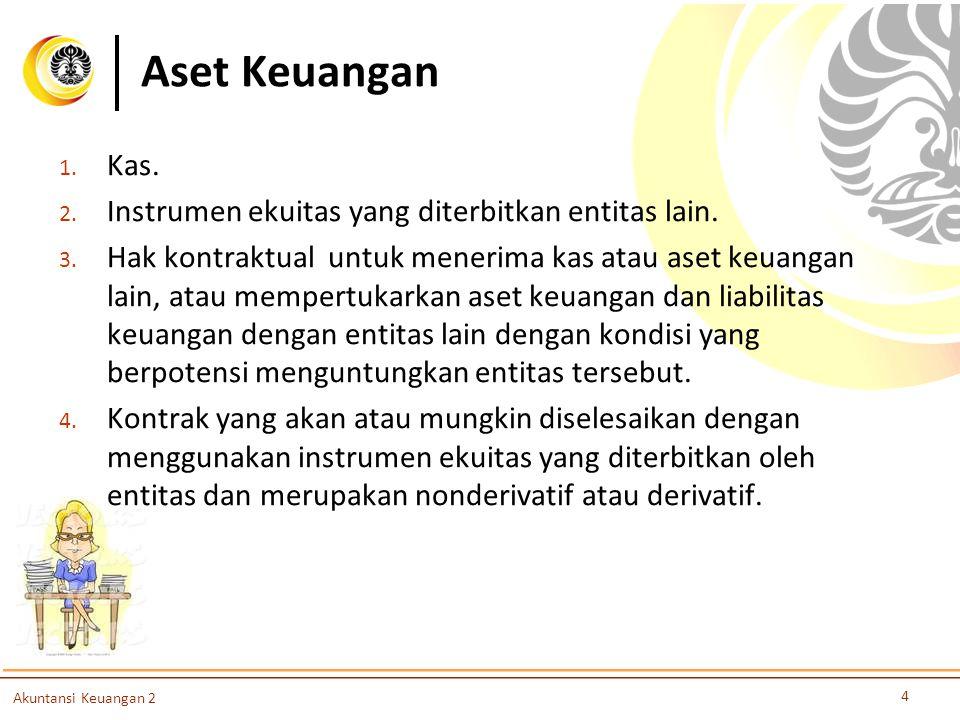 Slide OCW Universitas Indonesia Oleh : Nurul Husnah dan Dwi Martani Departemen Akuntansi FEUI Nurul Husnah dan Dwi Martani Departemen Akuntansi FEUI martani@ui.ac.idmartani@ui.ac.id atau dwimartani@yahoo.comwimartani@yahoo.com http://staff.blog.ui.ac.id/martani/ Akuntansi Keuangan 2 45