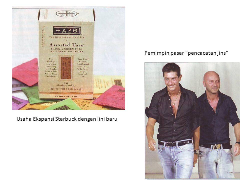 Usaha Ekspansi Starbuck dengan lini baru Pemimpin pasar pencacatan jins