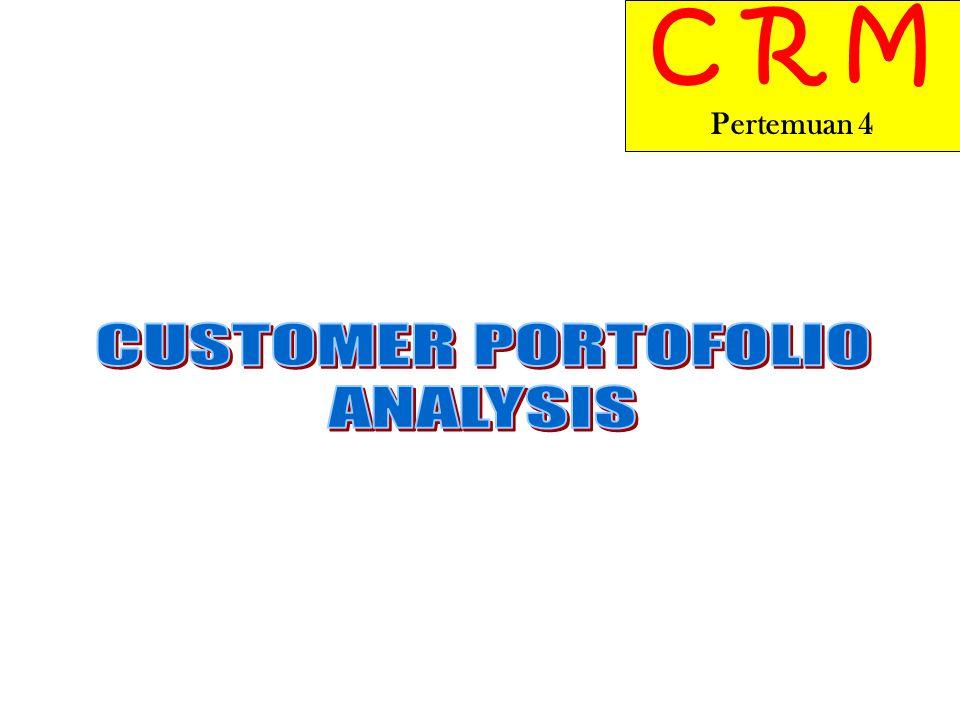 1.Mempelajari pentingnya Customer Portofolio analysis (CPA) untuk implementasi CRM.