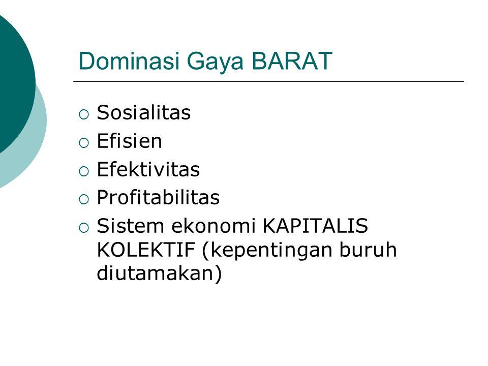 GAYA INDONESIA Latar belakang budaya Indonesia  tidak sama BHINEKA TUNGGAL IKA Manajemen Indonesia belum ada/ belum nyata  Usaha/ konsep: mencoba menciptakan sist.