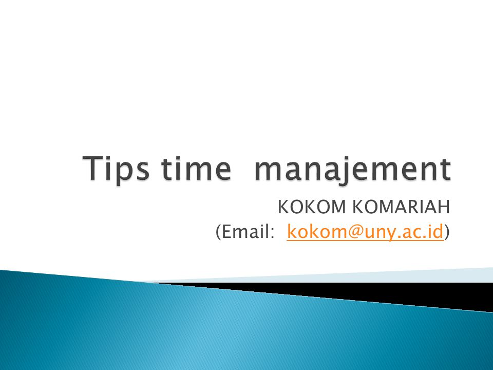 KOKOM KOMARIAH (Email: kokom@uny.ac.id)kokom@uny.ac.id