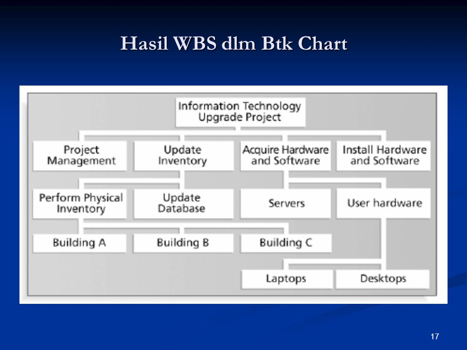 17 Hasil WBS dlm Btk Chart