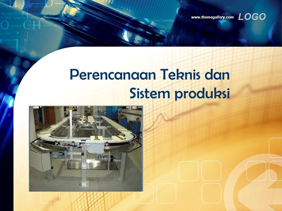 LOGO Jenis-jenis Sistem Produksi (3)  Batch  memproduksi banyak variasi produk dan volume, lama proses produksi untuk tiap produk agak pendek, dan satu lintasan dapat dipakai untuk beberapa produk.
