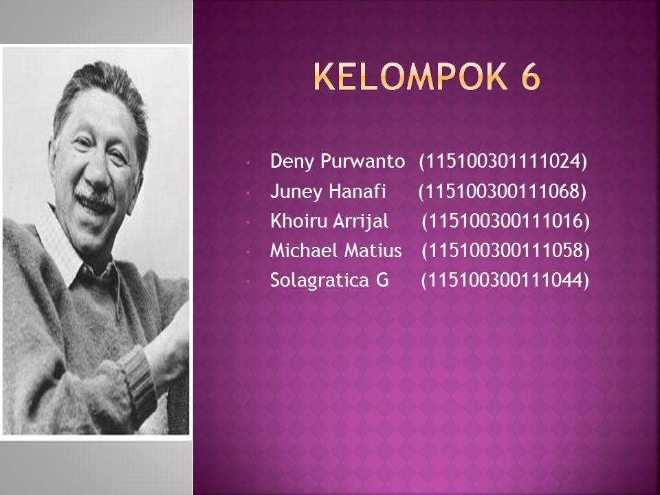Deny Purwanto (115100301111024) Juney Hanafi (115100300111068) Khoiru Arrijal (115100300111016) Michael Matius (115100300111058) Solagratica G (115100300111044)
