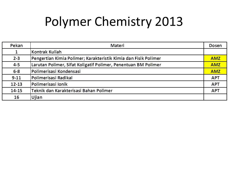 Polymer Chemistry 2013