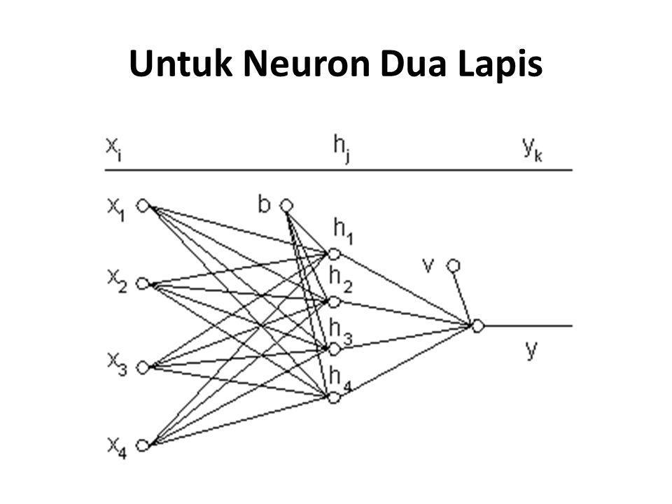 Untuk Neuron Dua Lapis
