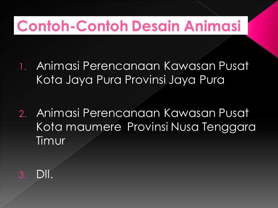 Contoh-Contoh Desain Animasi 1.