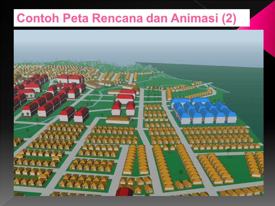 Contoh Peta Rencana dan Animasi (2)