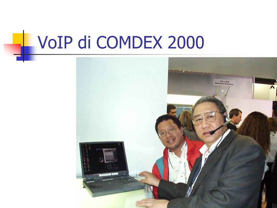 VoIP di COMDEX 2000