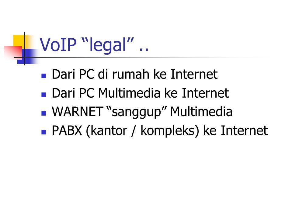 VoIP legal ..