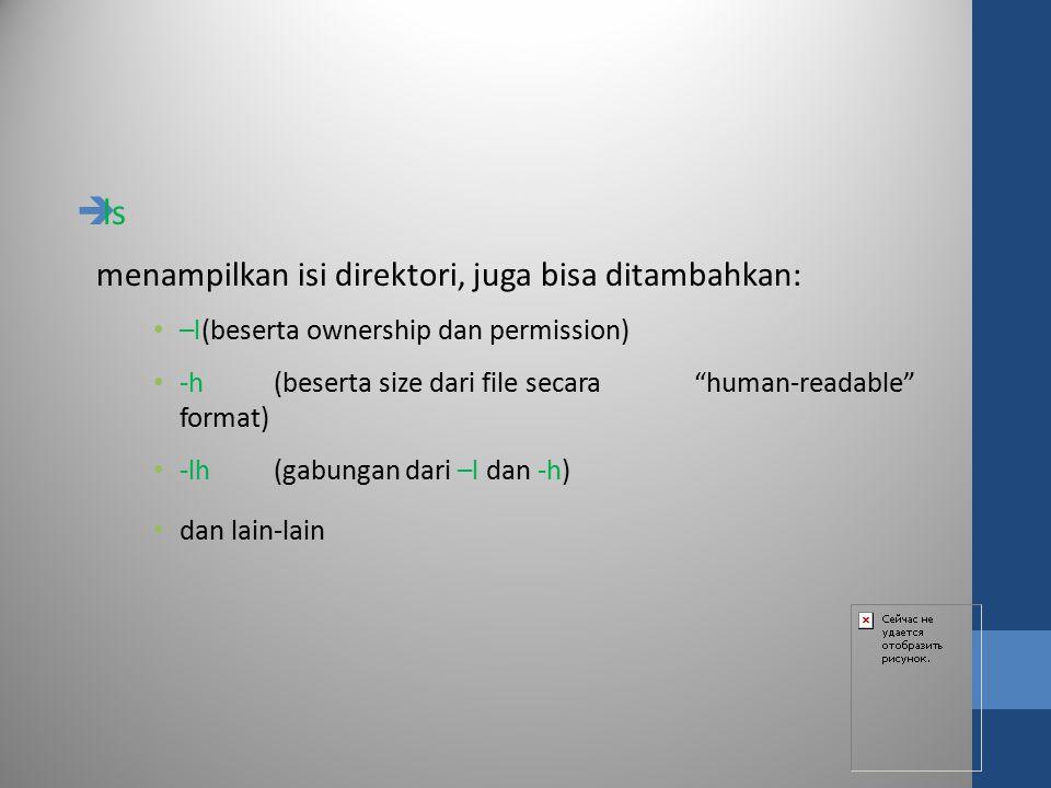 Ijin Akses  Pemilik (owner)  Kelompok (group)  Lainnya (others)