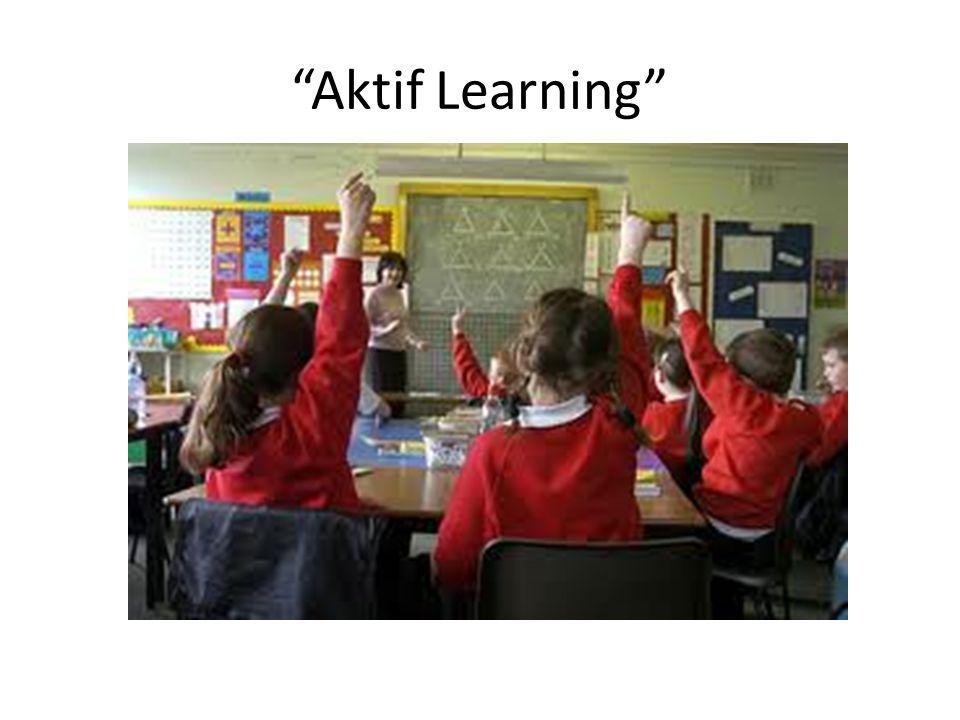 """Aktif Learning"""