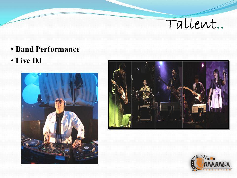 Band Performance Live DJ