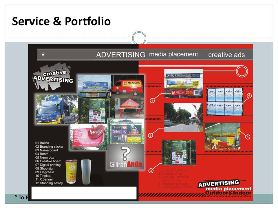 Service & Portfolio