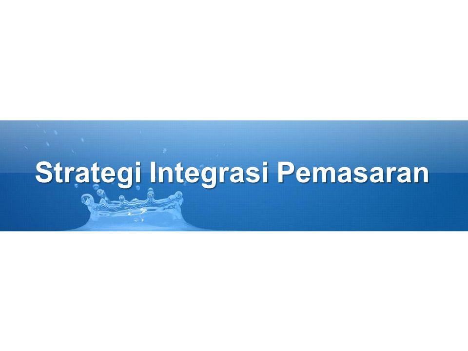 Strategi Integrasi Pemasaran