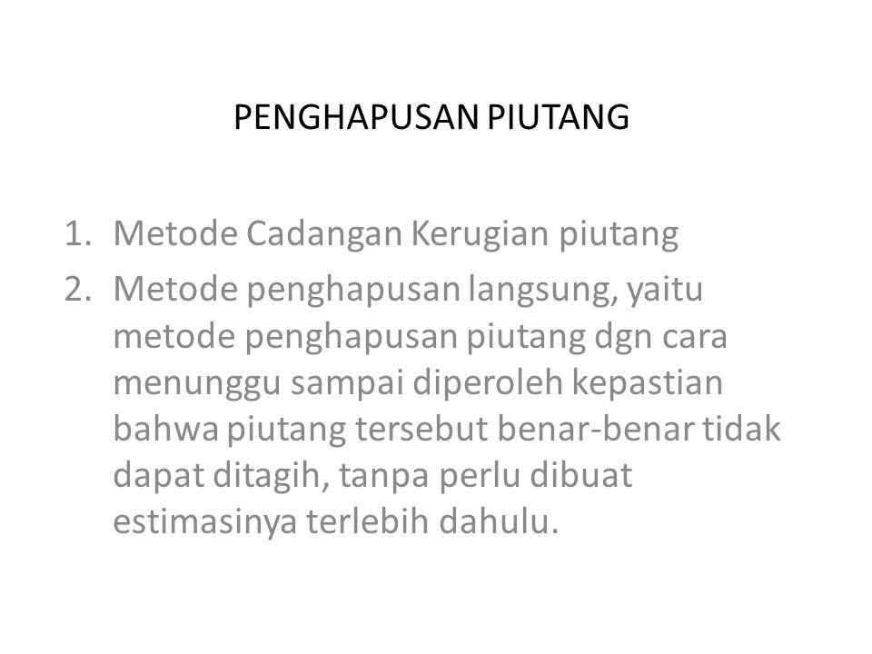 Definisi Piutang: 1.