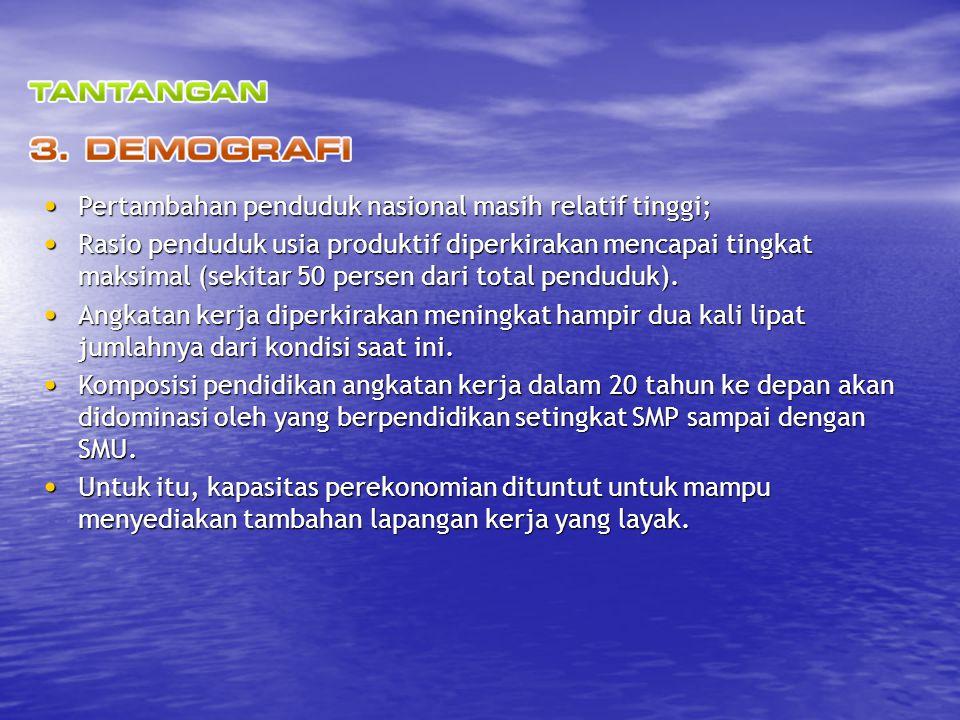 RPJM 4 (2020-2024) RPJM 1 (2005-2009) Menata kembali NKRI, membangun Indonesia yang aman dan damai, yang adil dan demokratis, dengan tingkat kesejahteraan yang lebih baik.