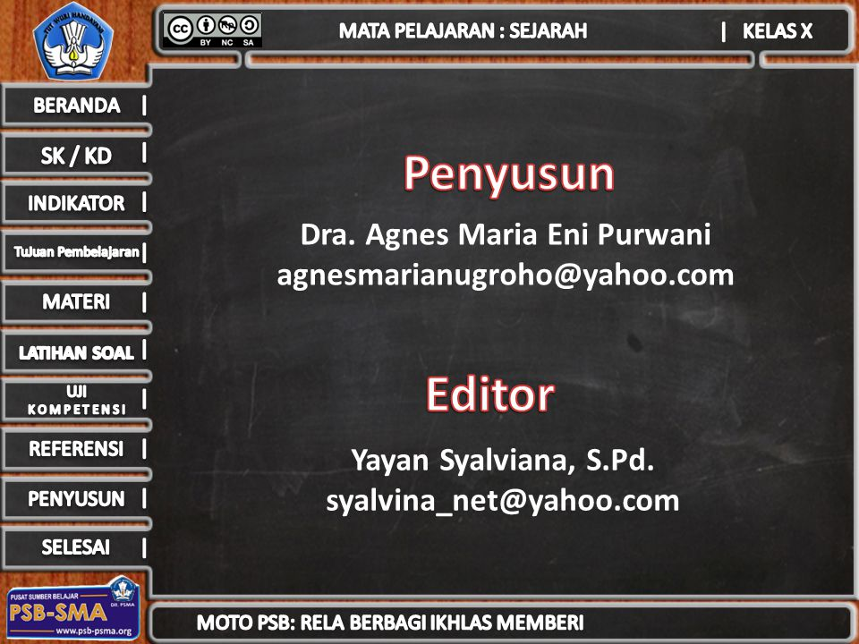 Dra.Agnes Maria Eni Purwani agnesmarianugroho@yahoo.com Yayan Syalviana, S.Pd.