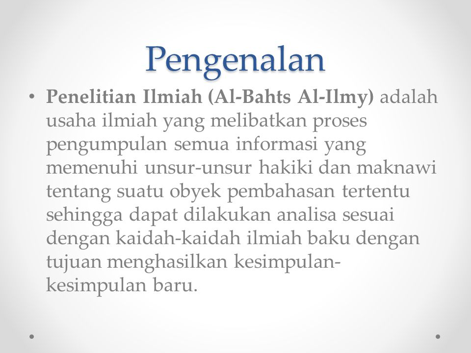 Workshop Penulisan Makalah Pesantren PERSIS Bangil Tahun 2010-2011