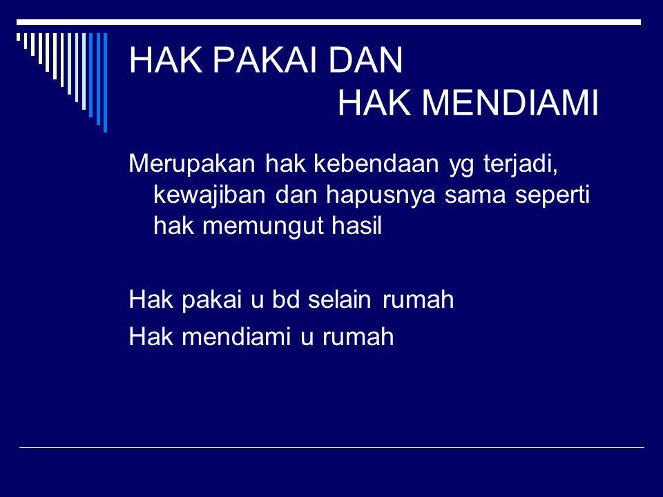 Hak Kebendaan y Memberi Jaminan 1.