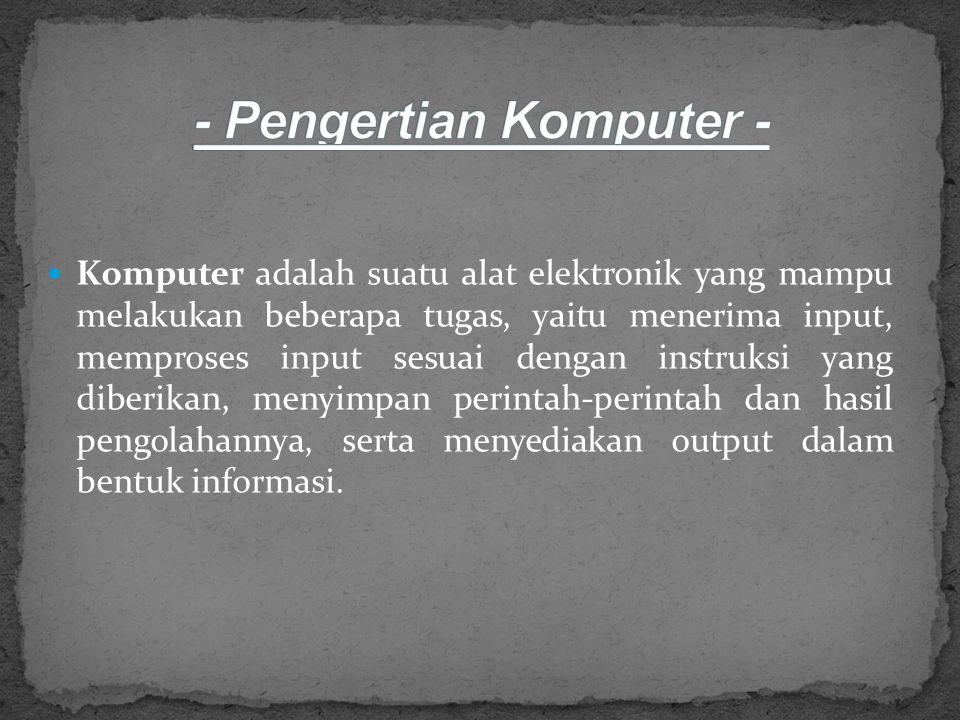 UNIVERSITAS INDRAPRASTA PGRI JAKARTA PROGRAM SARJANA 2012/2013 PENGANTAR TEKNOLOGI INFORMASI