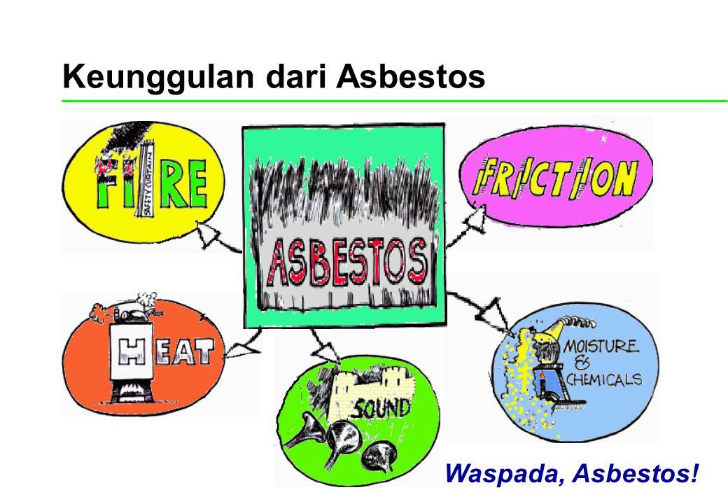 Keunggulan dari Asbestos Waspada, Asbestos!