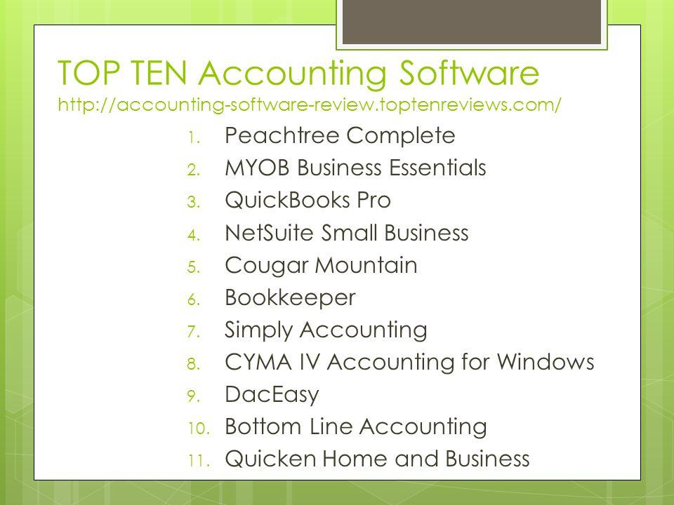 Kelebihan MYOB dibandingkan dengan software akuntansi lain: 1.