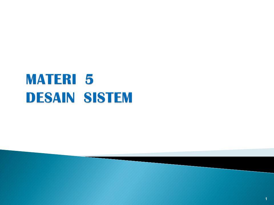 1.Pendahuluan 2. Arti Perancangan Sistem 3. Tujuan Perancangan Sistem 4.