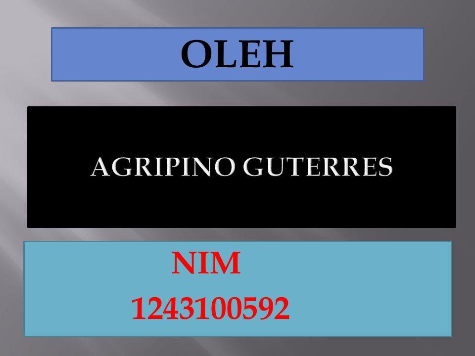 NIM 1243100592 OLEH
