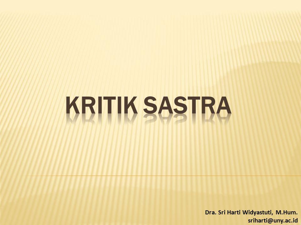 Dra. Sri Harti Widyastuti, M.Hum. sriharti@uny.ac.id