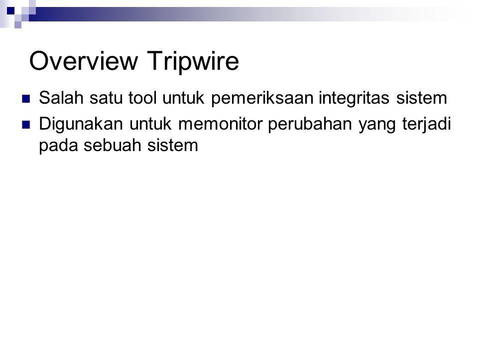 Mengapa Tripwire penting .
